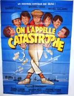 Affiche De Cinéma. On L'appelle Catastrophe. Belmondo. - Affiches