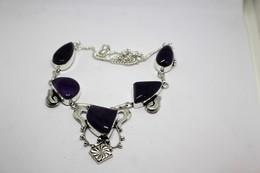 Collana Di Ametista   Misura 50 Cm - Necklaces/Chains