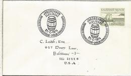 GROENLANDIA CC 1974 MAT BARRIL TONEL BEBIDA - Bebidas