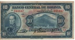 BOLIVIA  10 Bolivianos   (L. 1928)    P121 - Bolivia