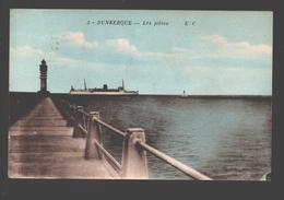 Dunkerque - Les Jetées - 1953 - éd. Gorlier - Dunkerque
