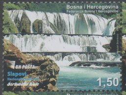 BOSNIA,  2017,MNH, WATERFALLS, 1v - Geology