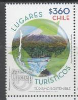 CHILE, 2017, MNH, UPAEP, SUSTAINABLE TOURISM, MOUNTAINS, RIVERS, 1v - Vakantie & Toerisme