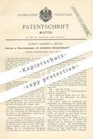 Original Patent - Robert Kahnes , Leipzig 1890 , Wasserstandsanzeiger Mit Durchbohrter Schraubenventilspindel U. Ventil - Documents Historiques