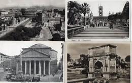CPA Italie Lazio Roma Pantheon Agrippa Campidoglio Colosseo Fori Imperiali Arco Di Tito - Roma (Rome)