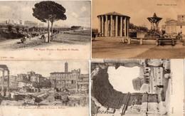 CPA Italie Lazio Roma Tempio Vesta Castore Polluce Colosso Arco Titovia Appia Acquedotto Claudio - Roma (Rome)