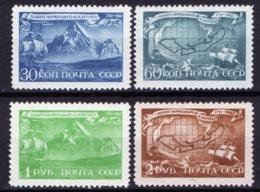 Russia 1943 Unif. 879/82 **/MNH VF/F - 1923-1991 URSS