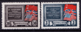 Russia 1943 Unif. 913/14 **/MNH VF/F - 1923-1991 URSS
