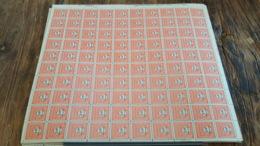 LOT 430170 TIMBRE DE FRANCE NEUF** LUXE  FEUILLE - Feuilles Complètes