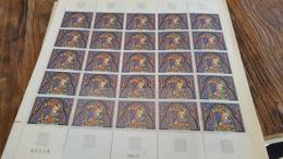 LOT 430193 TIMBRE DE FRANCE NEUF** LUXE N°1492 FEUILLE - Feuilles Complètes