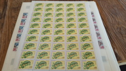 LOT 430200 TIMBRE DE FRANCE NEUF** LUXE N°1692 FEUILLE - Feuilles Complètes