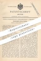 Original Patent - George Wheelwright Schermerhorn , Philadelphia , 1890 , Zusammenlegbares Boot Mit Ausleger   Boote !!! - Documents Historiques