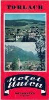 ITALIA- DOLOMITES - DOBBIACO -TOBLACH (HOTEL UNION) - Publicités