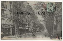 75 - TOUT PARIS 20 - #662 - Avenue Gambetta ++ Coll. F. FLEURY ++ 1906 - Arrondissement: 20