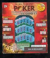Grattage FDJ - FRANCAISE DES JEUX - POKER 43501 - Billets De Loterie