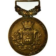France, Union Des Sociétés De Gymnastique De Rouen, Mérite, Médaille, Très - Militaria