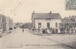 SAINT-QUENTIN: La Gare Saint-Jean - Saint Quentin