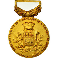 France, Union Des Sociétés De Gymnastique De Rouen, Mérite, Médaille - Other