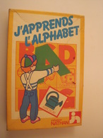 JEU- J'APPRENDS L'ALPHABET-INITIATION NATHAN 5/8 ANS - Brain Teasers, Brain Games
