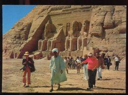 CPM Neuve Egypte ABOU SIMBEL Le Temple - Temples D'Abou Simbel