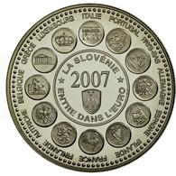France, Médaille, L'Europe Des XXVII, La Slovénie Entre Dans L'Euro, 2007 - France
