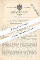 Original Patent - Dr. Gustav Rasch , Karlsruhe , 1895 , Regelung Von Stromverbrauch   Stromzähler , Strom , Elektriker ! - Documents Historiques