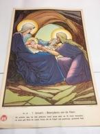 GRAND IMAGE CHROMOLITHOGRAPHIE PLANCHE ILLUSTRATEUR JOS SPEYBROUCK 60cm X 40 Cm GROTE PRENT LITHO - Images Religieuses
