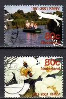 NL+ Niederlande 2001 Mi 1857 1860 Bootsfahrt, Käfer - Gebruikt