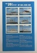 Liberia 1999** Klb.2546-51. Ships MNH [17II;11] - Schiffe