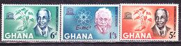 Ghana 1964-Unesco-Serie Completa Nuova MLLH - Ghana (1957-...)