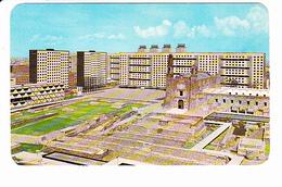 MEXIQUE, MEXICO, Vue Panoramique De La Plaza De Las 3 Culturas, Immeubles, Ed. Ammex Associados 1970 Environ - Mexique