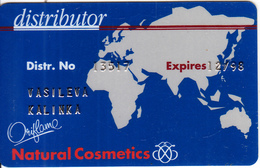GREECE - Natural Cosmetics, Member Card, Exp.date 12/98, Used - Other Collections