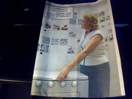 Vieux Papier Publicité Tract Les   Carreaux  D'annecy  Cuisine S Debain Année 50 - Publicités