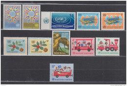 UNO New York 163-173, Jahrgang 1966, Komplett, Postfrisch ** - New York -  VN Hauptquartier