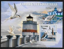 SAINT THOME ET PRINCE  BF  510  * *  ( Cote 17.50e)  Phares Oiseaux Mouettes - Phares