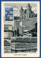 Carte Premier Jour / Saint Dié / 29-3-58 - Maximum Cards