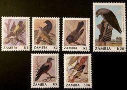 Zambia 1991 ** Mi.544-49 Birds MNH [20;127] - Oiseaux