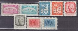 UNO NEW YORK 76-83, Postfrisch **, Jahrgänge 1959 Komplett - New York -  VN Hauptquartier