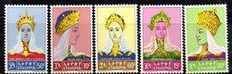 ETP114 - ETIOPIA 1964 ,  Yvert  N 421/425    ***  Imperatrici - Etiopia