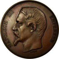 France, Médaille, Napoléon III, Conservatoire De Musique Et Déclamation - France