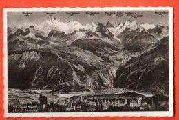 EBG-05 Panorama Sierre Et Val D'Anniviers. Non Circulé, - VS Valais