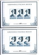 + 2278 , 2 X Grossdeutsches Reich,  Fälschung, Lückenfüller - Allemagne