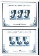 + 2279 , 2 X Grossdeutsches Reich,  Fälschung, Lückenfüller - Allemagne