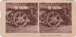 STEREO PHOTOGRAPHY 'PRIDE OF GERMAN ORDNANCE' (798) - Stereoscopic