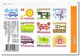 Nederland 2008, Postfris MNH, NVPH 2550-2559, Think Green, Environment - Ungebraucht