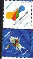 COLOMBIA, 2018, MNH, 23rd CENTRAL AMERICAN AND CARIBBEAN GAMES, 2v - Stamps