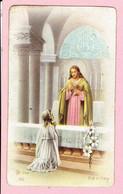 Plechtige H. Communie Prentje - Nicole Steemans - Arendonk 1955 - Images Religieuses