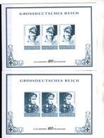 + 2280 , 2 X Grossdeutsches Reich,  Fälschung, Lückenfüller - Allemagne