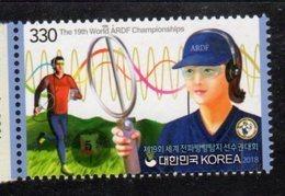 SOUTH KOREA, 2018, MNH, 19th ARDF CHAMPIONSHIPS, AMATEUR RADIO DIRECTION FINDING,1v - Stamps