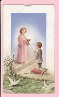 Plechtige H. Communieprentje - Gilbert Huybregts - Arendonk 1956 - Images Religieuses